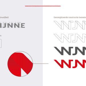 wijnne logo en huisstijl ontwerp